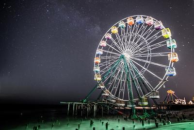 #346 Circle of Stars, Funtown Pier, Seaside Park, NJ (post Hurricane Sandy).