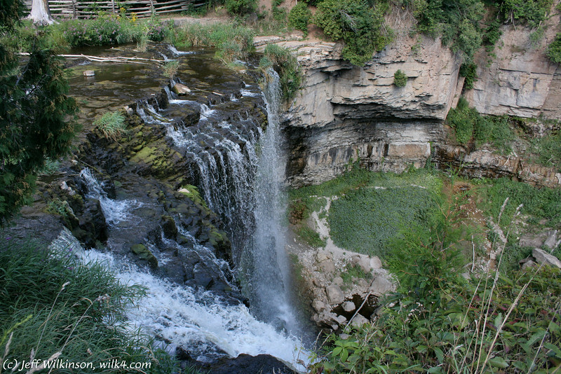 Webster's Falls, in Hamilton, Ontario, Canada