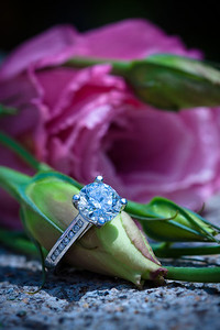 Some serious bling.... yes, the camera adds 0.5 carats!