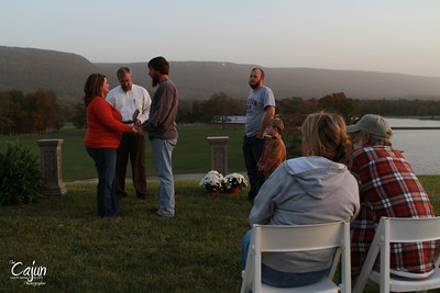 The Wedding Party for Jordan Street and Dustin Powell in Rising Fawn Ga. Photography By Lloyd Kenney III (C) 2012 All Rights Reserved.