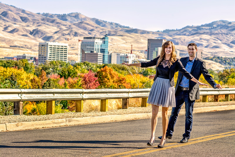 Justin Allen and Kara Schmitt Engagement shoot October19 2014