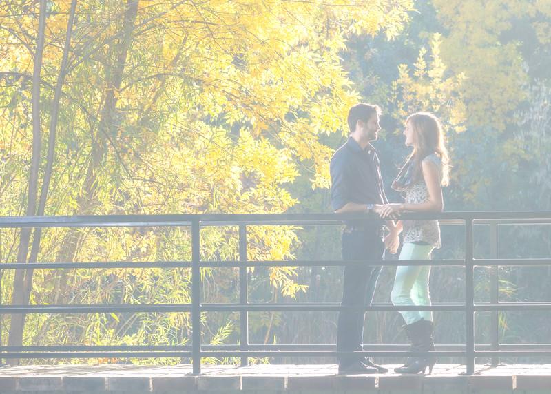 Justin Allen and Kara Schmitt Engagement shoot October19 2014