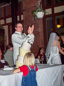 Mike & Trisa's wedding. Pictures taken by Barb. January 14, 2005.