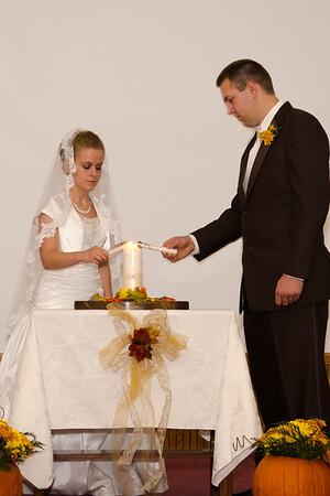 Shawn & Becky Ceremony  Croghan, NY