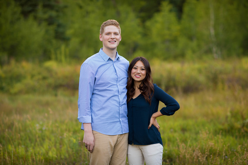 TFW 1408-01 006  TFW 1408-01 Spencer and Helen Westover Engagement Photos  Aspen Grove  August 19, 2014  Photo by Todd Frederick Wakefield