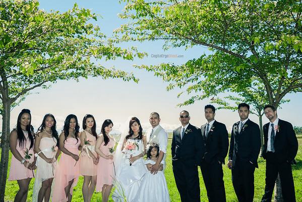 Jenny + Robbie wedding, May 2013