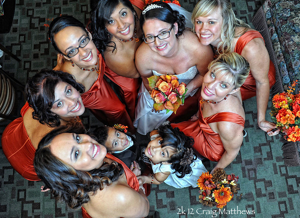 Liz's Bridal Party