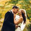 Couple in love in Washington Square Park