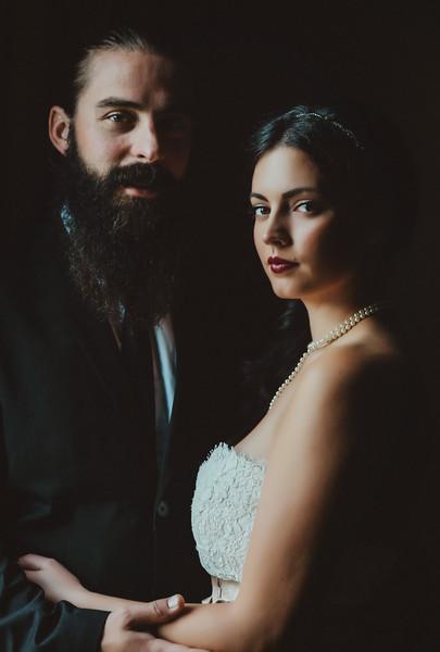 Classic Wedding Couple