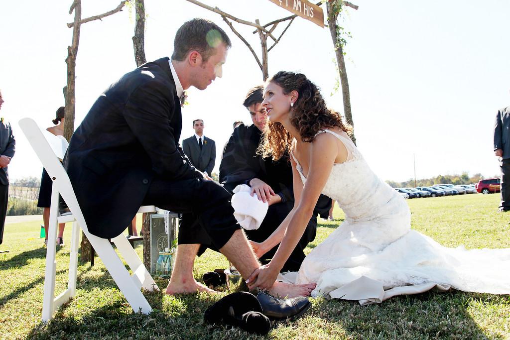 The wedding of Elizabeth Forsythe and Jonathan Block.