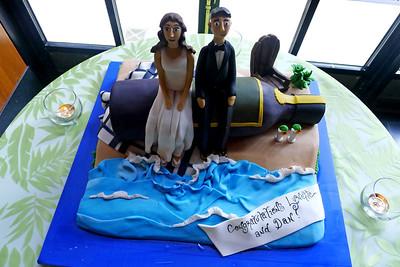 Little Lynette & Little Dan cake  © Shawna Seto 2012