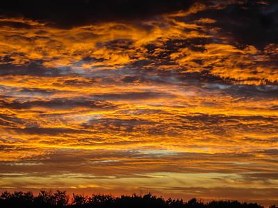 Fire in the sky © Rachel Rubin 2012