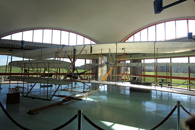 Replica of the plane the Wright Brothers flew in the first flight © Rachel Rubin 2012
