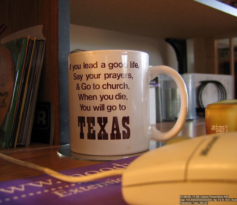 Gift from some Texan friends.