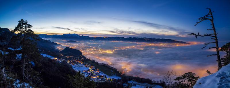 Rheintal, Breiter Berg