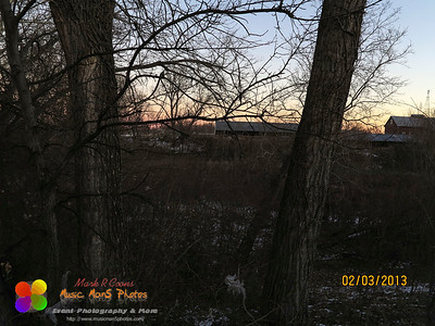 sunrise at the farm (was next door to where we stayed)   ©Music Man5 Photos