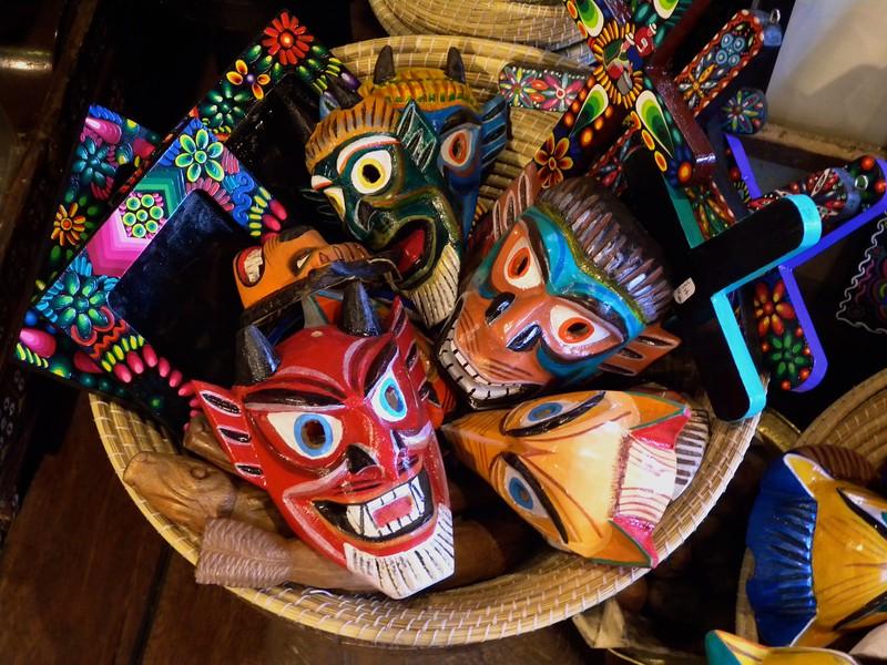 Mask Shop, Quito, Ecuador