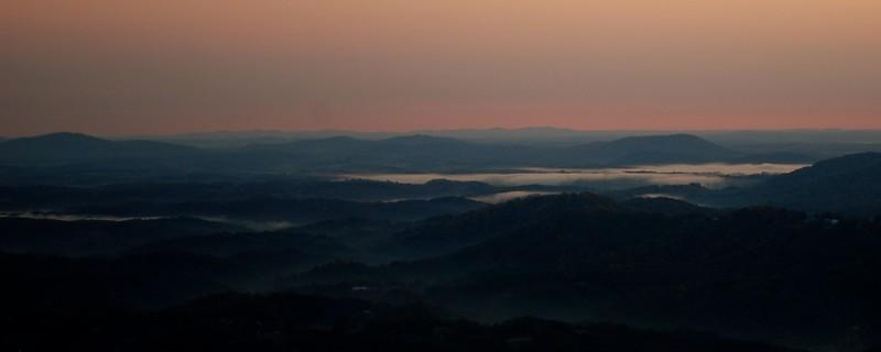 From Roanoke Mountain, Virginia USA