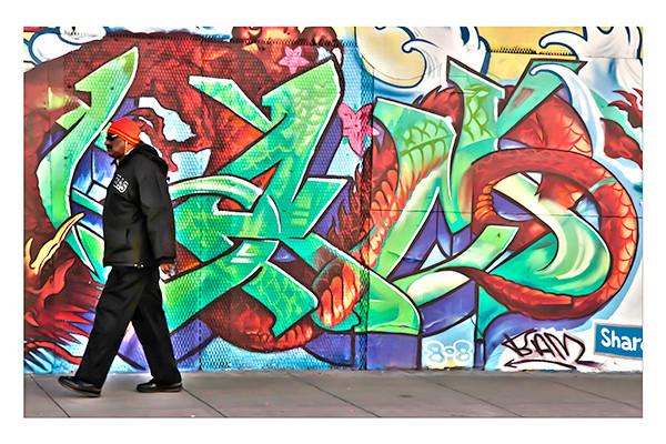Grafiti Walk-by, San Francisco