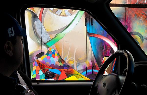 Graffiti Drive-by, San Francisco