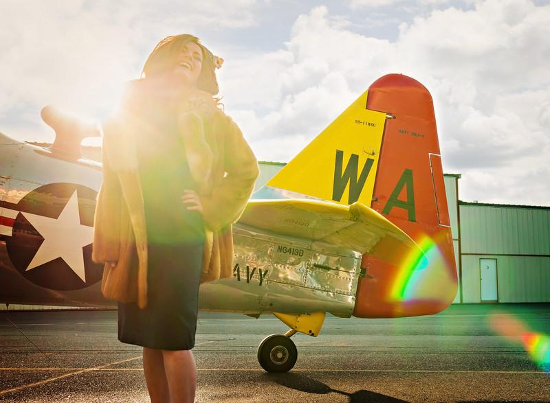Bella Vita Creative, Photo Lush Conference, Vintage Photo Shoot, Heritage Flight Museum, Skagit County Photographer