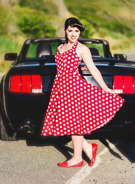'50s Styled Shoot Bella Vita Creative 50s photo shoot Mount Vernon WA photographer