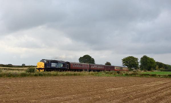 Wensleydale Railway Class 37 Event. 20/09/14.