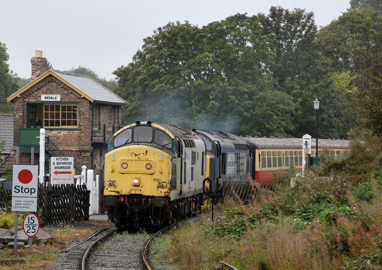 37250 and 37682, Bedale.