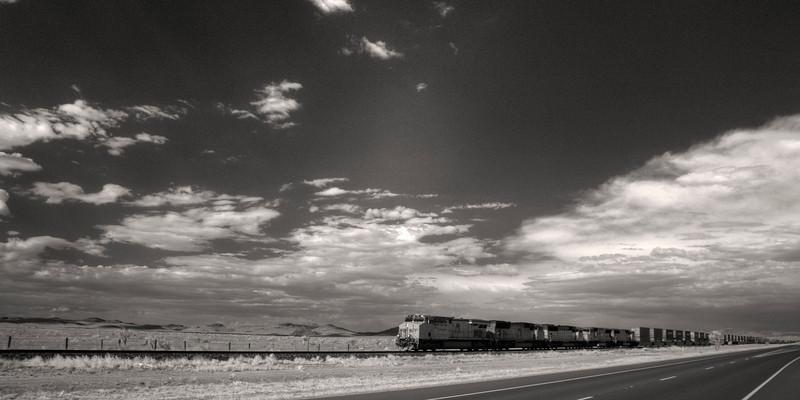 East of Marfa Texas
