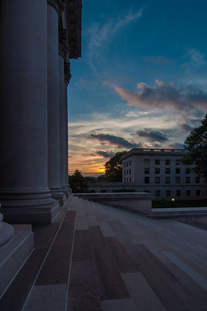 Capitol Stairs Sunset