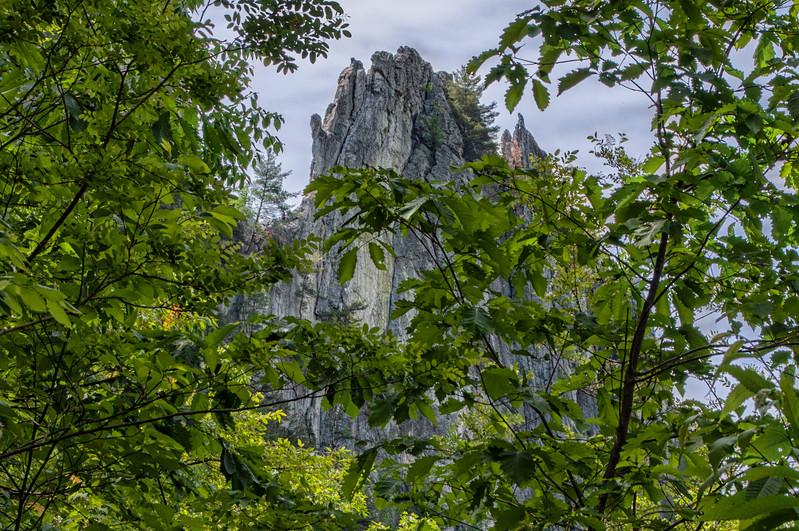 Seneca Rocks (Green Wall)