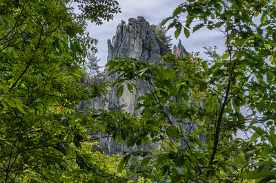 Seneca Rocks (Green Wall)
