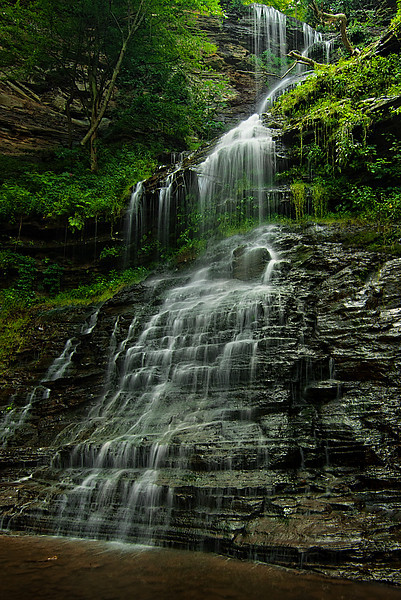 Cathedral Falls Summer