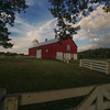 Barn Evening