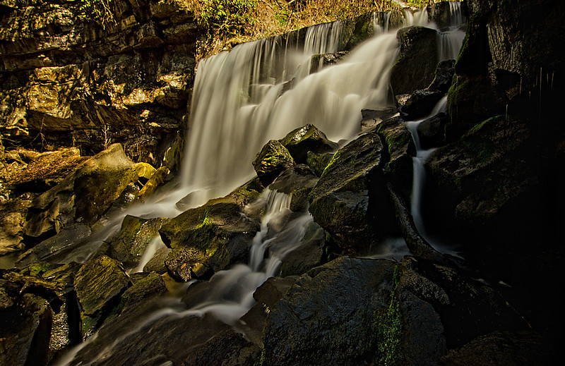 Wolf Creek Falls in the Gorge
