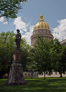 Jackson Statue Capitol Lawn