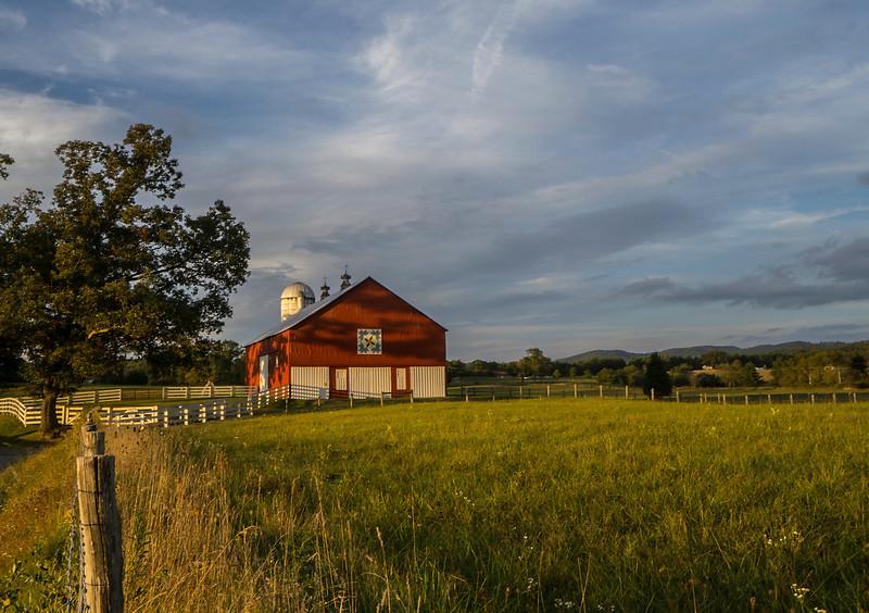 Evening Barn Light