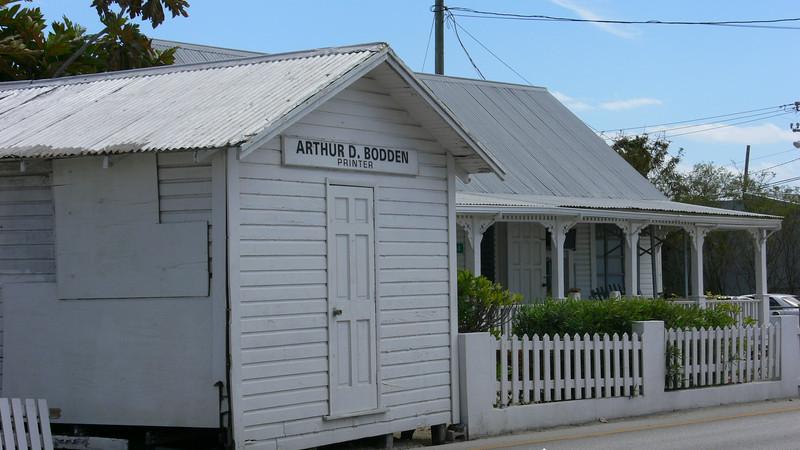 A Cayman Printer's House