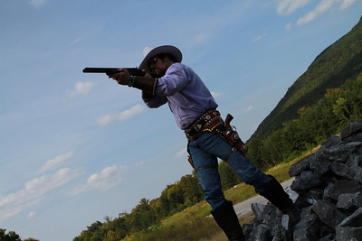 Cowboy in Rising Fawn Georgia. Photography By Lloyd R Kenney III (C) 2012 All Rights Reserved.