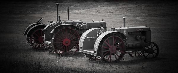 Pair of Tractors