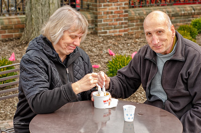 Susan & Bill Enjoy Custard From Whitt's