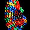 Multi-Color Straws