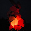 2008 May 24: The Energizer Bunny balloon attempting to 'glow' at the Jubilee.