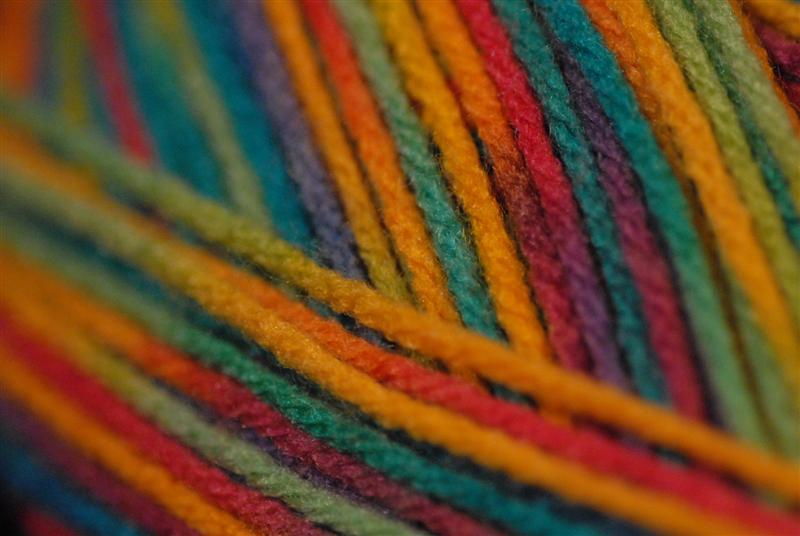 2007 March 25:  Pretty yarn