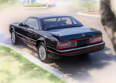 Black 1990 Allante convertible, used car for sale at Cadillac of Novi