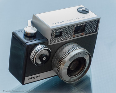 Argus Autronic I 35mm rangefinder film camera