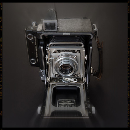 Graflex Pacemaker 23 Speed Graphic roll-film press camera, circa 1947