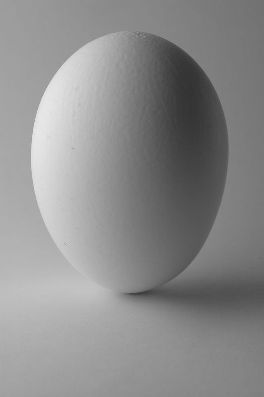 Yes- this egg is really balanced on its end, and it was not done on an equinox.