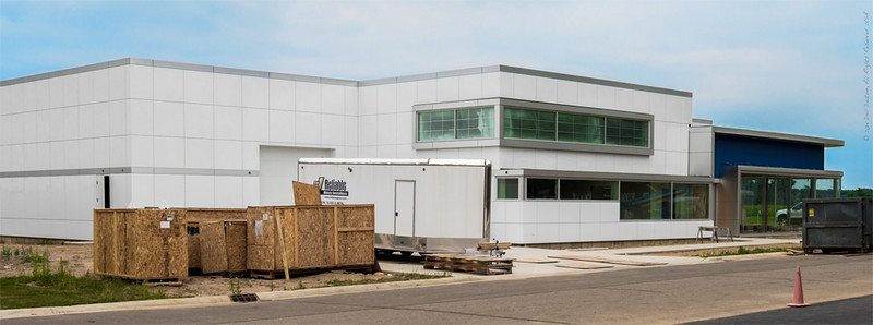 Cadillac & LaSalle Club Museum and Research Center construction, July 26, 2014