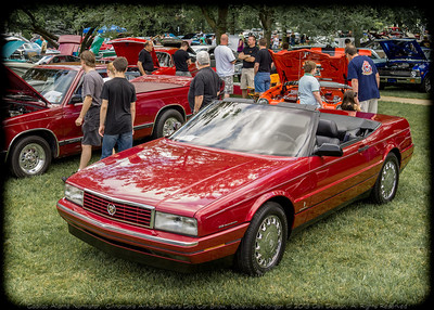 Dell Deaton's 1993 Cadillac Allante, on display at 2013 Cinnamon's Annual Father's Day Car Show